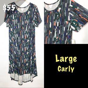 NWT LuLaRoe Large Carly Dress